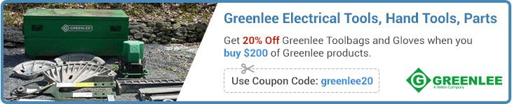 Greenlee Tools Coupon