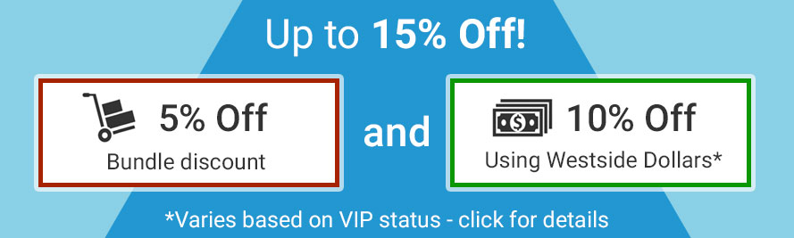 Save up to 15%