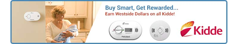 Kidde Smoke Alarms, Heat Detectors, & Carbon Monoxide Alarms