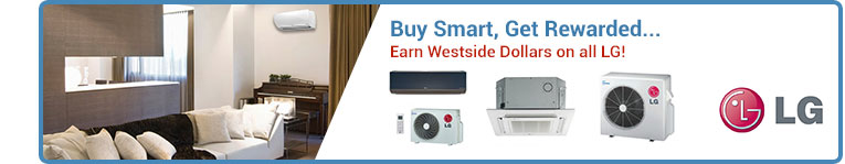 LG Air Conditioners & Ductless Air Conditioners
