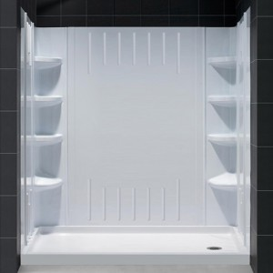 Shower Base & Back Wall Sets