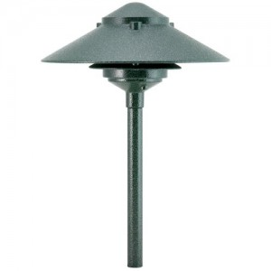 "Focus Industries AL-03-10ATV 18W 10"" Pagoda Hat Path Light"