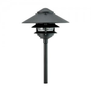 "Focus Industries AL-03-3T10BLT 10"" Pagoda Hat Path Light"