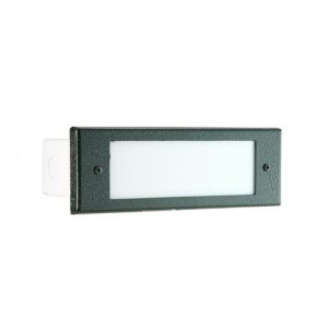 Focus Industries SL-04-ALATV 36W Four Louver Brick Step Light