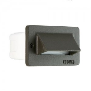 Focus Industries SL-30-BRT One Louver Commercial Step light