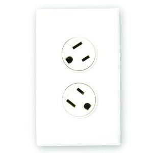 360 Electrical 36010-W Duplex Outlets