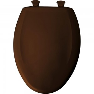 Enjoyable Bemis 1200Slowt 348 Toilet Seat Slow Close Elongated Closed Front Plastic W Easy 2 Clean Hinges Swiss Chocolate Caraccident5 Cool Chair Designs And Ideas Caraccident5Info