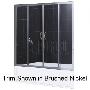 DreamLine SHDR-1160586-01 Tub Shower Doors