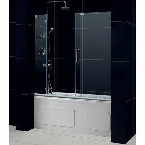 DreamLine SHDR-19605810-04 Tub Shower Doors