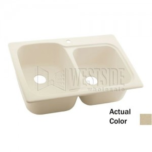 Swanstone KSDB-3322 (040) Double Bowl Kitchen Sink