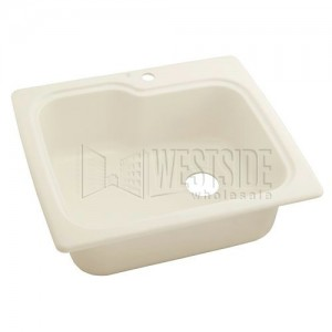 Swanstone KSSB-2522 (010) Single Bowl Kitchen Sink