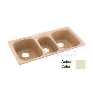 Swan Solid Surface 30-in x 60-in x 60-in Bathtub Wall Kit Canyon