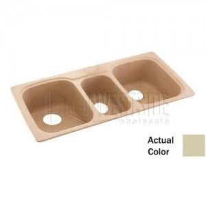 Swanstone KSTB-4422 (037) Double Bowl Kitchen Sink