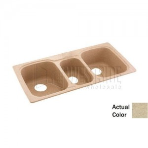 Swanstone KSTB-4422 (040) Double Bowl Kitchen Sink