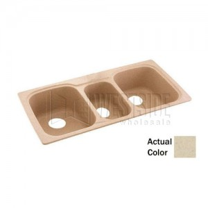 Swanstone KSTB-4422 (050) Double Bowl Kitchen Sink