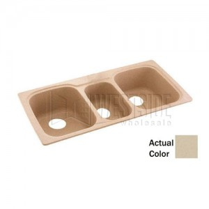 Swanstone KSTB-4422 (051) Double Bowl Kitchen Sink