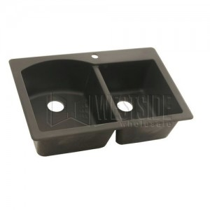 Swanstone QZDB-3322 (077) Double Bowl Kitchen Sink