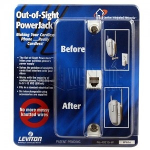 Leviton 40215-W Phone Jacks