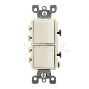 Leviton 5643-A Combo Switches