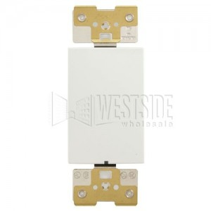 Leviton AC203-1LW Push Button Switches