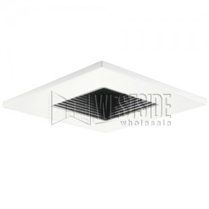 Halo 3011whbb recessed lighting trim 3 adjustable baffle square halo 3011whbb recessed lighting trim 3 adjustable baffle square trim white with black baffle aloadofball Images