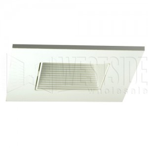 Halo 3012WHWB Recessed Lighting Trim 3  Lensed Showerlight Adjustable Baffle Square Trim - White with White Baffle  sc 1 st  Westside Wholesale & Halo 3012WHWB Recessed Lighting Trim 3