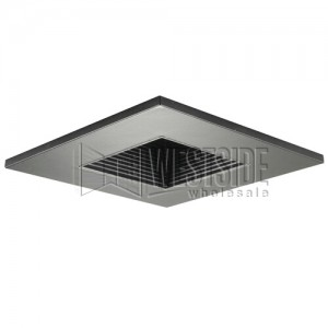 Halo 3012bkbb recessed lighting trim 3 lensed showerlight halo 3012bkbb recessed lighting trim 3 lensed showerlight adjustable baffle square shower trim black with black baffle aloadofball Image collections