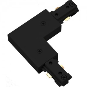 Halo L904MB Single Circuit L Track Connector Matte Black