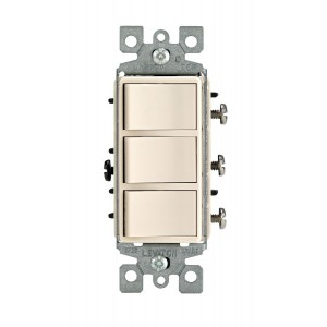Leviton 1755-T Combo Switches