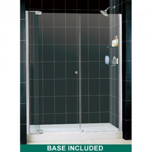 DreamLine DL-6421C-01CL Shower Door and Base Sets