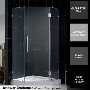 DreamLine SHEN-22343410-04 Shower Enclosures