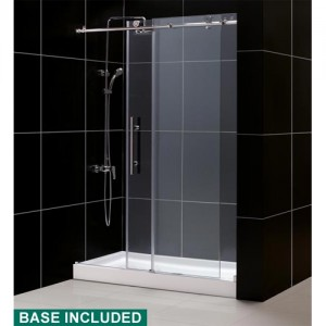 DreamLine DL-6611R-07CL Shower Door and Base Sets