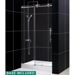 DreamLine DL-6618C-08CL Shower Door and Base Sets