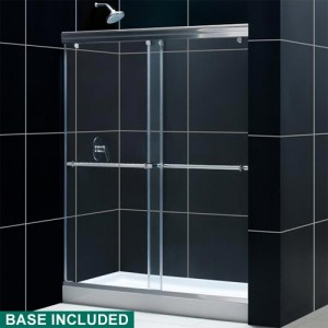 DreamLine DL-6932L-01CL Shower Door and Base Sets