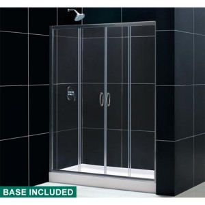 DreamLine DL-6014C-01CL Shower Door and Base Sets
