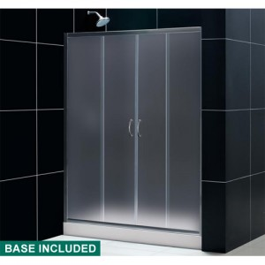 DreamLine DL-6014C-01FR Shower Door and Base Sets