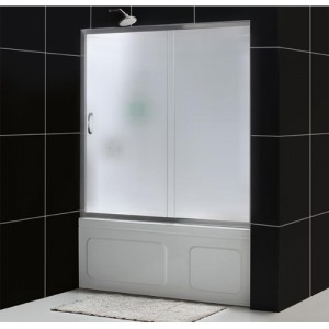 DreamLine DL-6102-04FR Shower Door and Backwall Sets