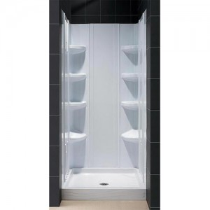 DreamLine DL-6173C-00 Shower Base & Back Wall Sets
