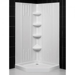 DreamLine DL-6176-00 Shower Base & Back Wall Sets
