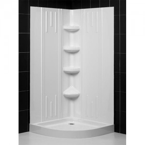 DreamLine DL-6178-00 Shower Base & Back Wall Sets