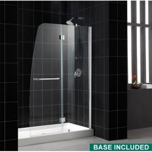 DreamLine DL-6312L-04CL Shower Door and Base Sets