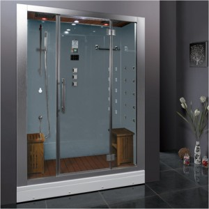 Ariel Bath Dz972f8 W Platinum Steam Shower W Sauna 59 Quot X