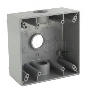 Crouse Hinds TP7090 Metal Electrical Box