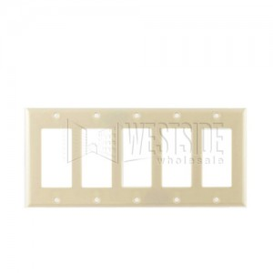 Cooper Wiring 2165V Decora Wall Plates