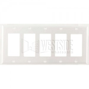 Cooper Wiring 2165W Decora Wall Plates