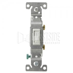 Cooper Wiring 1301-7W Toggle Switches