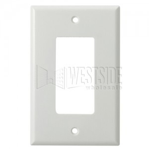 cooper wiring 2051w electrical wall plate mid size thermoset rh westsidewholesale com cooper wiring devices wall plate cooper wiring wall plate 4 gang bronze