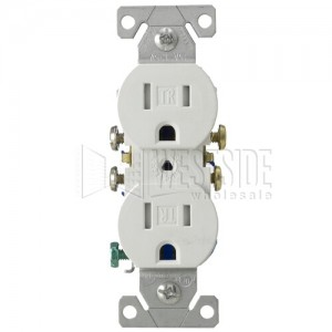 Cooper Wiring TR270W Duplex Outlets