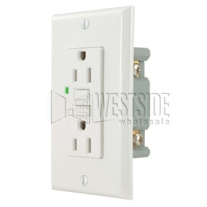 Gfci s06 g20 w 20a ground fault circuit interrupter receptacle with gfci s06 g20 w 20a ground fault circuit interrupter receptacle with wallplate white publicscrutiny Gallery