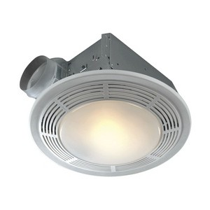 ductless bathroom exhaust fan with light nutone 8663rp bathroom fan 100 cfm w light amp light 25252